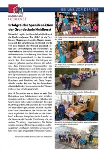 Dorfzeitung_2016-1_Bericht GS Heidhorst Spendenaktion